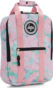 Kids Multicoloured Sponge Print Backpack