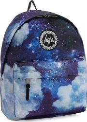 Multicoloured Space Print Backpack