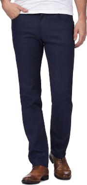 Big And Tall Mid Blue Slim Fit Jeans
