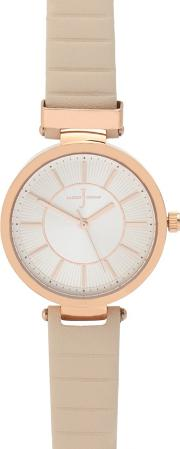 Ladies Light Pink Analogue Watch