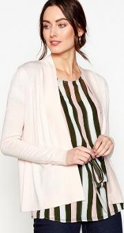 Light Pink Edge To Edge Cardigan
