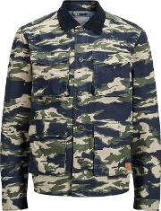 Dark Green Camouflage mike Jacket