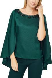 Darcey Fluted Sleeve Blouse