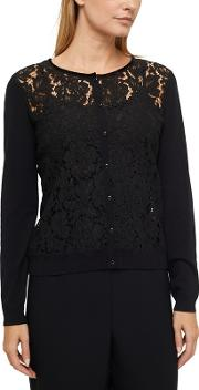 Emmy Lace Front Cardigan