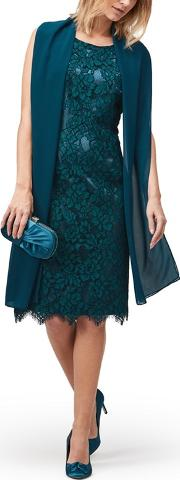 Lace And Cap Dress