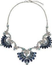 Ombre Blues Collar Necklace