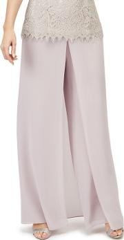 Pleat Wide Trousers
