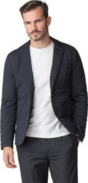 Atelier By  Navy Quilted Jacket