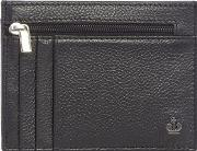 Black Leather Credit Card Holder With Data Protection