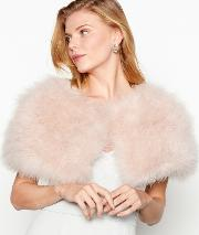 No. 1  Pink Feather Shrug