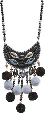Black cape Verde Necklace
