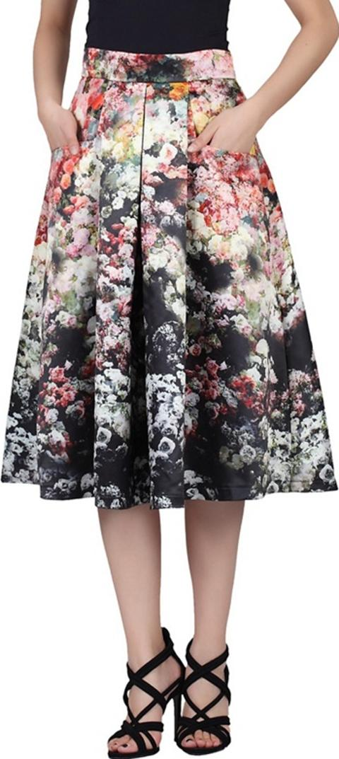 60246ea665e Shop Fit And Flare Skirts for Women - Obsessory
