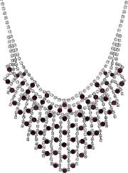 Crystal Diamante Collar Necklace