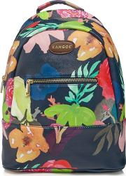 Multi Coloured Floral Print Backpack