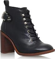 Black sweet High Heel Ankle Boots