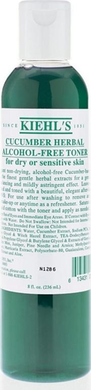 Kiehls Cucumber Herbal Alcohol Free Toner 236ml
