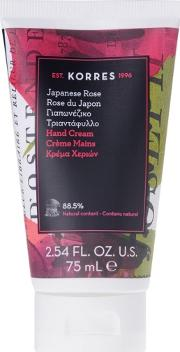 'japanese Rose' Hand Cream 75ml