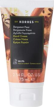 bergamot Pear Hand Cream 75ml