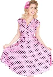 Pink Raspberry Polka Florence Dress
