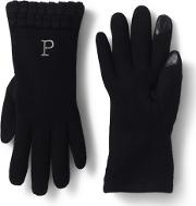 Black Casual Ez Touch Gloves