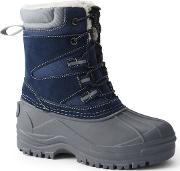 Blue Expedition Snow Boots