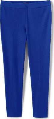Blue Slim Leg Stretch Trousers