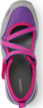 Girls Purple Mary Jane Trekker Shoes
