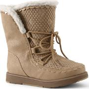 Gold Cosy Boots