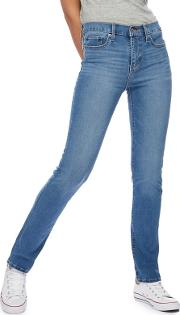 Levis Blue 312 Slim Shaping Jeans