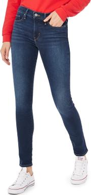 Levis Blue Mid Wash 311 Shaping Skinny Jeans