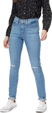 Levis Light Blue 311 Shaping Skinny Jeans