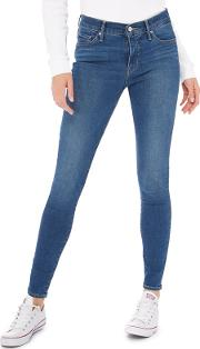 Levis Mid Blue Mid Wash 310 Shaping Super Skinny Jeans