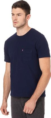 Levis Navy Pocket T Shirt