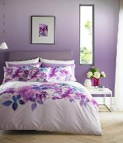 Multicoloured translucent Bloom Bedding Set