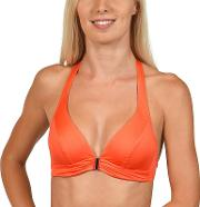 Orange gran Canaria Halterneck Bikini Top