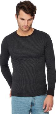 New England 2 Pack Black Brushed Thermal Tops