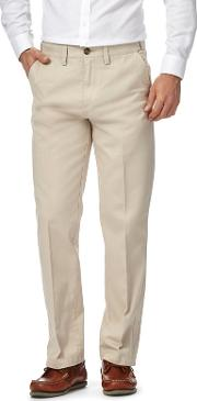 Big And Tall Grey Chino Trousers