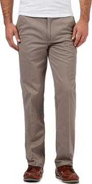 Big And Tall Grey Tailored Chinos