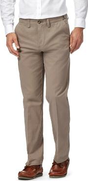 Big And Tall Grey Tailored Fit Chinos