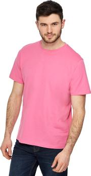 Big And Tall Light Pink Crew Neck T Shirt