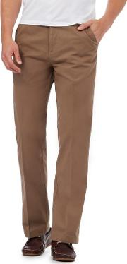 Big And Tall Light Tan Tailored Chinos