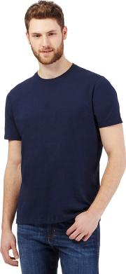 Big And Tall Navy Crew Neck T Shirt