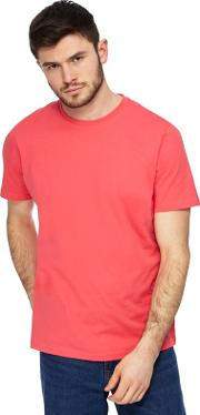 Big And Tall Pink Crew Neck T Shirt