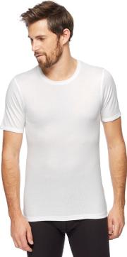 New England Big And Tall White Thermal T Shirt