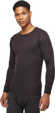 New England Black Long Sleeved Thermal Top