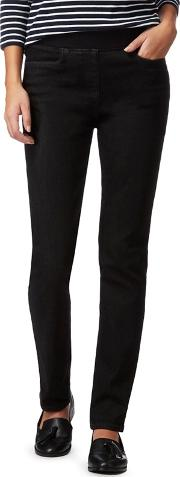 Black Straight Leg Jeggings