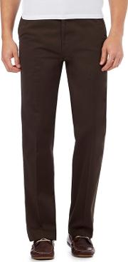 Chocolate Tailored Fit Chinos