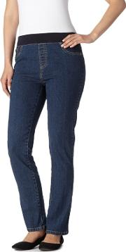 Indigo Wash High Waisted Jeggings