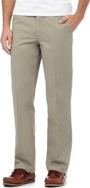 Light Olive Tailored Chinos