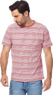 New England Light Pink Ombre Striped T Shirt